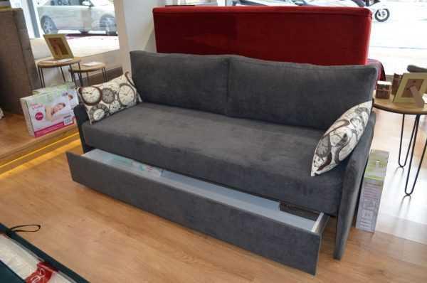 Ντούμας - Καναπές με αποθηκευτικό χώρο - Καρέ
