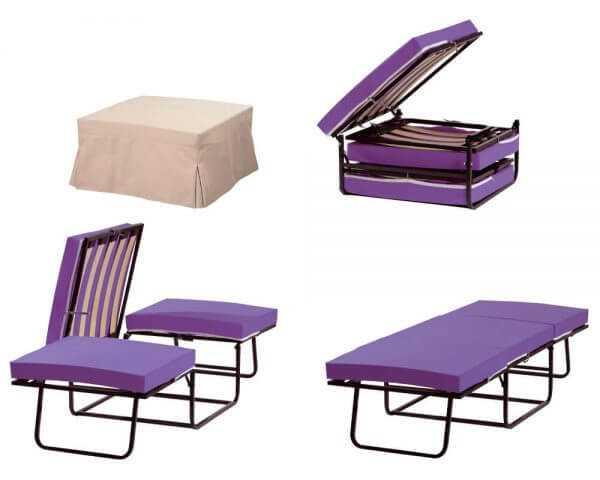 Linea Strom - Πτυσσόμενα Κρεβάτια - Pouf